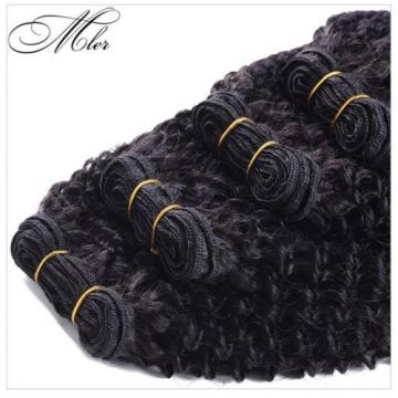 3 Bundles 150g Virgin 100% Brazilian Kinky Curly Hair Weave Human Hair Extension