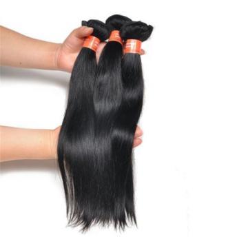 Brazilian Straight  1PC/50g 100% Unprocessed Virgin Hair Extension Human Weave