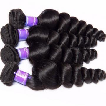 Virgin Brazilian Hair Weave 150g/3Bundles Loose Wave 100% Human Hair Extensions