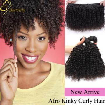 Brazilian Curly Virgin Hair 4Bundles 200g Afro Kinky Curly Human Hair Weave Weft