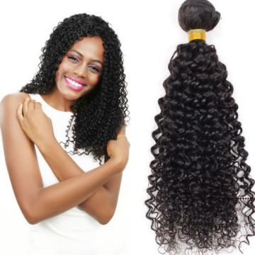 100% Virgin Hair Weave 50g 1 Bundles Brazilian Kinky Curly Human Hair Extensions