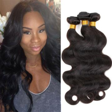 "100% Brazilian virgin remy hair weave body wave 14"" 100g"
