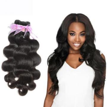 "12"" 3 Bundles Body Wave  Brazilian Virgin Weave Weft 100% Human Hair 150g total"