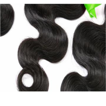 Brazilian Virgin Body Wave Weave Weft 100% Human Hair Wavy 1 Bundles/ 50g total