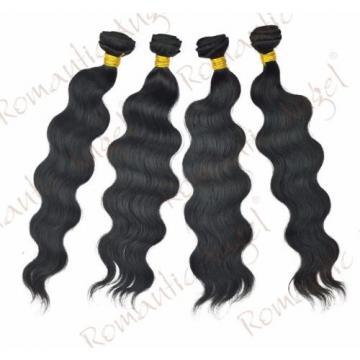 6A Body Wave Human Hair Unprocessed Virgin Brazilian Natural Black 1bundles 100g