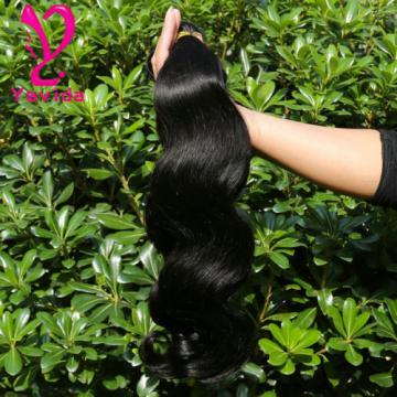 300G/3 Bundles THICK 7A Unprocessed Virgin Brazilian Body Wave Human Hair Weft