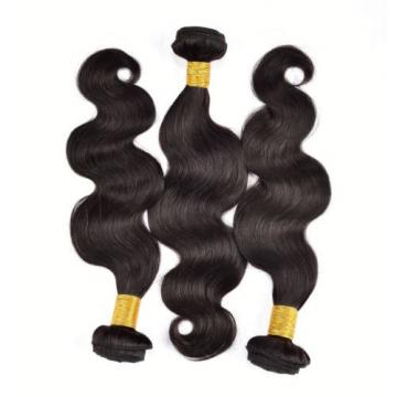 "Body Wave Human Hair Extensions Brazilian Virgin Hair 3 Bundles 150g 8""+8""+8"""