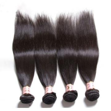 Brazilian 7A Straight Virgin Human Hair Weave Hair 4 Bundles/200g Unprocessed