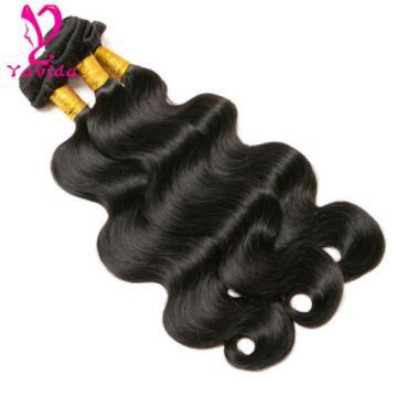 7A Virgin Body Wave Hair Weft 4 Bundles Brazilian Peruvian Human Hair Weave 400g