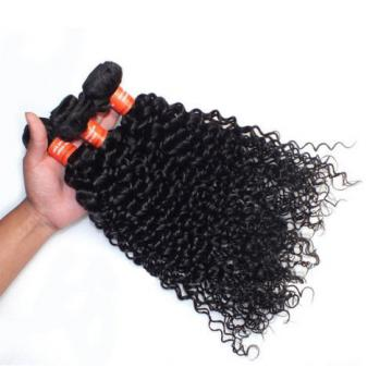 Virgin Brazilian 100g Remy Deep Wave Wavy Hair Weave Human Hair Extension