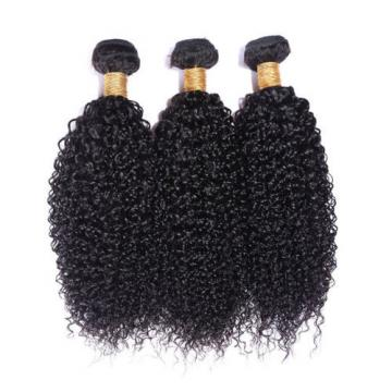 Cheap and Top quality   Brazilian virgin curly wave human hair extension 50g/pc