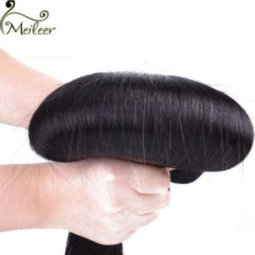 50g/1 Bundles Brazilian 6A Straight Virgin Human Hair Extensions Unprocessed