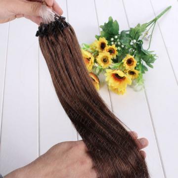 "16""-26"" Micro Ring Loop Bead 100% Remy Brazilian Virgin Human Hair Extensions"