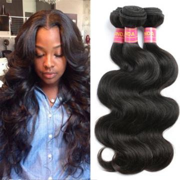 8A Raw Virgin Brazilian Human Hair Weave 1/3PCS Unprocessed Brazilian Body Wave