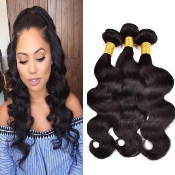 Brazilian Virgin Hair Body Wave Bundles 3 Bundles Body Wave Human Hair Extension