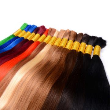 Originea 3 Bundles Brazilian Virgin Straight Human Hair Bulk Hair for Braiding