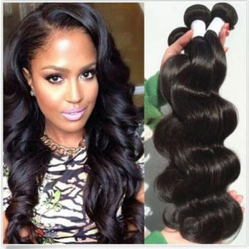 "3 Bundles / 150G Brazilian Virgin Body Wave Weave Weft Human Hair Wavy 8""+8""+10"""