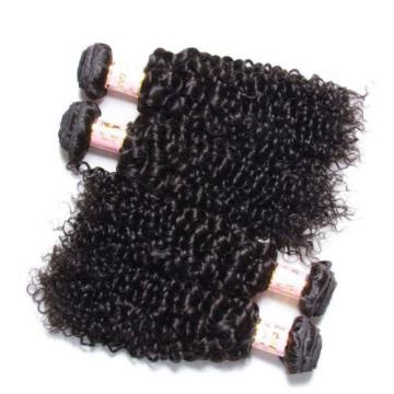 Brazilian 7A Kinky Curly Virgin Hair Human Hair Extensions 200g/4 Bundles