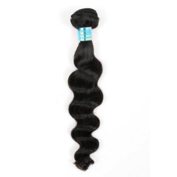 7A Brazilian Loose Wave Virgin Human Hair Weaves Unprocessed Hairs 100g/Bundle