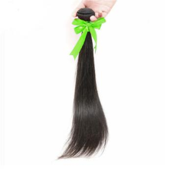 1 Bundles 50g 100% Brazilian Straight Virgin Hair Weft For Sew In Hair Weft 8A