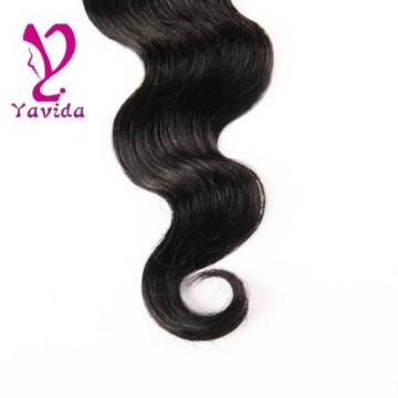 FULL HEAD Virgin Brazilian Body Wave Human Hair Extensions Weft 400g/4Bundles