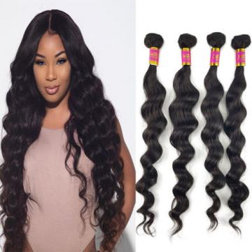 1 Bundles / 50g 100% Brazilian Loose Wave Virgin Hair Weft Human Hair Grade 8A