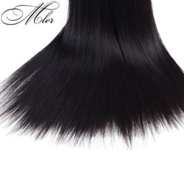 3 Bundles/150g Brazilian Virgin Straight Hair Extensions 100% Human Hair Weave