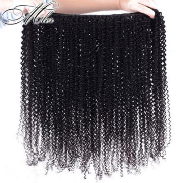 3Bundles 150g Virgin 100% Brazilian Kinky Curly Hair Weave Human Hair Extension