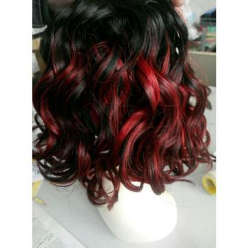 Brazilian Human Hair Curly Extensions mixed color Weft Virgin WAVE Hair Weave