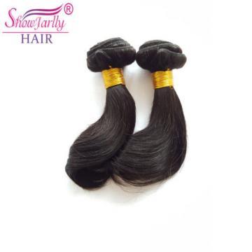 "Thick 2 Bundles 100g 8"" 100% Brazilian Body Wave Virgin Hair Weft 100g Full Head"