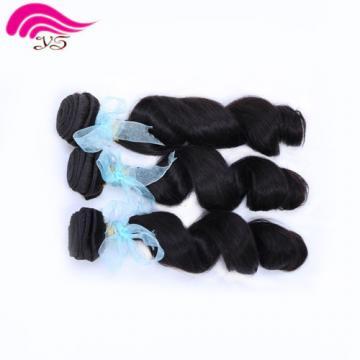 3bundles/150g  Brazilian weaves 100% Human Hair Extension Virgin Loose Wave Weft