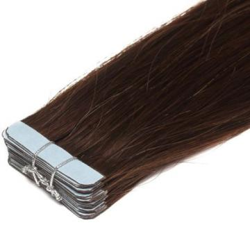 grade 8A Double Drawn 100% Brazilian Virgin Remy Tape In Human Hair Extensions