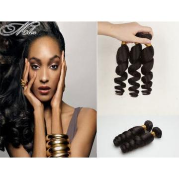200G/4 Bundles Brazilian Human Hair Weave Weft Virgin Loose Wave Hair weft weave