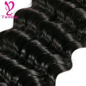 Brazilian Virgin Hair Deep Wave Human Hair Extension 8 to 28 Inch 2 Bundles 200g