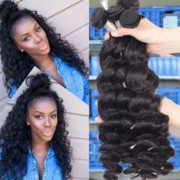 200G/4 Bundles Brazilian Human Hair Weave Weft Virgin Loose Wave Hair Product
