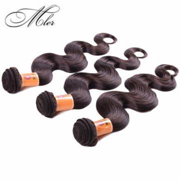 3 Bundles100% Virgin Brazilian Light Brown Body Wave Hair Extensions