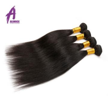 Brazilian Hair Virgin Human Hair Extensions Weave THICK 3 Bundles 300g 7a Weft
