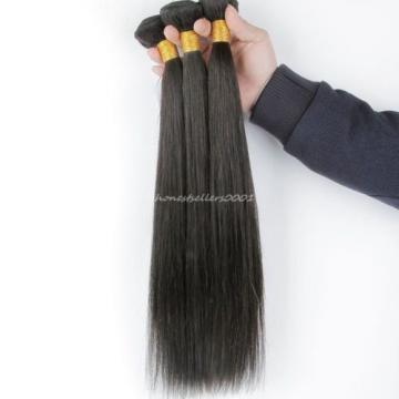 3 BundlesBrazilian Virgin Hair Straight Brazilian Straight Hair Weave Cheap 100%