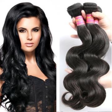 "Brazilian Virgin Remy 3bundles 16+18+18"" Body Wave Human Hair Weave Extensions"