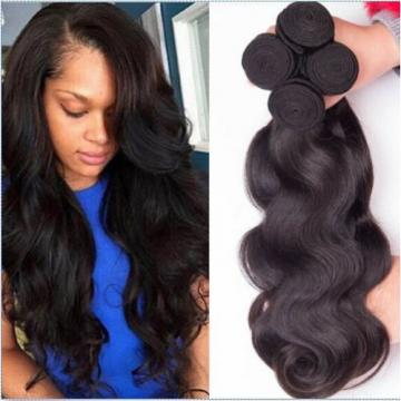 3 Bundles/150g Brazilian Virgin Body Wave Weave Weft 100% Human Hair Extention
