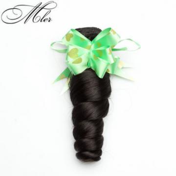 1 bundles Brazilian Virgin Remy hair Loose Wave Human Hair Weave Extensions 50g