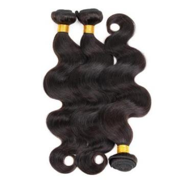 Unprocessed 3 Bundles 150g 6A Virgin Brazilian Human Remy Hair Weave Body Wave