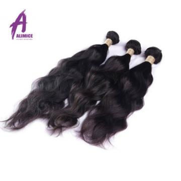 3Bundles 300g Brazilian Virgin Hair Human Hair Extensions Weave Natural Wave
