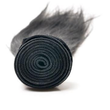 "Virgin Brazilian Natural BlackStraightHuman Hair Extensions 150g 14""+16""+18"""