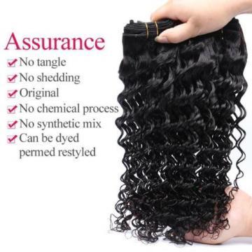 4 bundles Brazilian Virgin Remy Hair deep wave Human Hair Weave Extensions