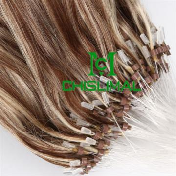 7A 50S Ombre Remy Micro Loop Ring Hair Extensions Brazilian Virgin Hair 1.0g/s