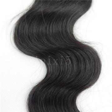 Brazilian virgin human hair unprocessed remy weft weave body wave 1 bundle 12''