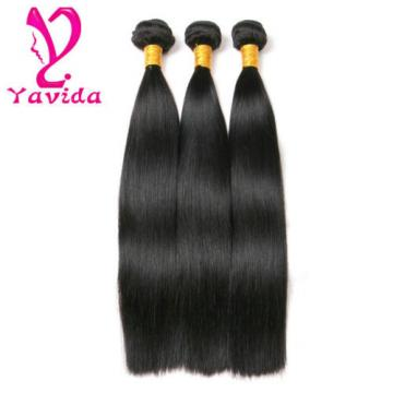 100% Virgin Brazilian Hair Straight hair Human Hair Weave 3bundles 8+10+12 inch