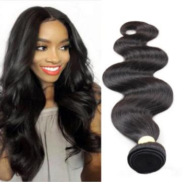 Brazilian Virgin Body Wave Hair Natural Black Human Hair Bundles 100g Cheap Sale