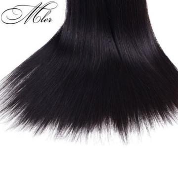 3 Bundles/150g Brazilian Virgin Hair Weave Natural Silky Straight Hair Wave